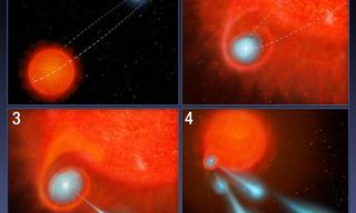 """Fireball"" Star Puzzles Scientists"