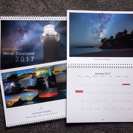 Nightscapes Calendar 2017