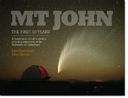 Mt John - The first 50 years