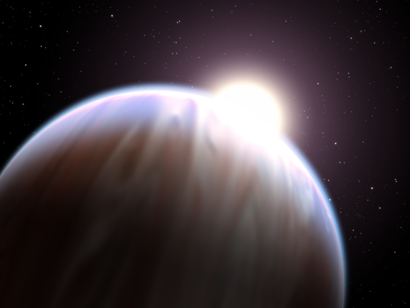 Astronomers find a planet through a never-before-used method